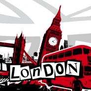 Acheter une valise London UK Londres pas cher !