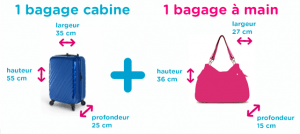 regles bagages cabine avion