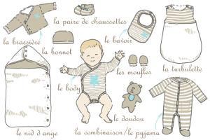 malette maternité