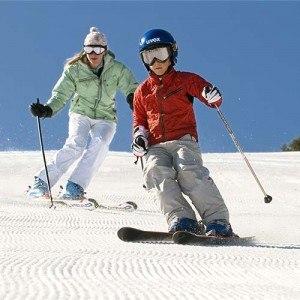 skier-en-famille